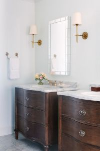 Curved fronted vanity unit - Belgian Style   Traditional ...
