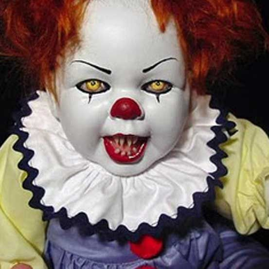 ScArY clown baby doll What you call creepy I call fun