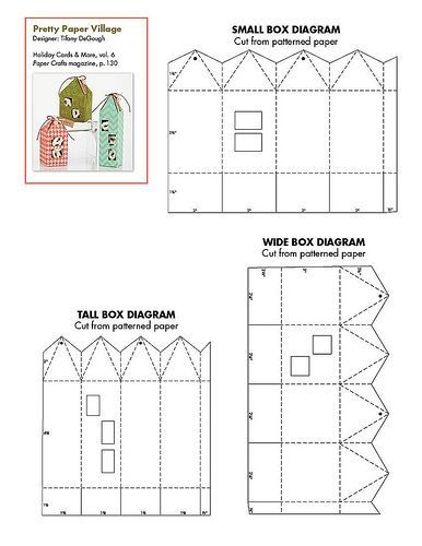 29 best images about templates paper houses on Pinterest