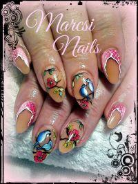 1000+ ideas about Bird Nail Art on Pinterest | Feather ...