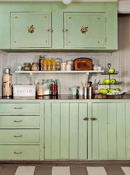 antique green kitchen cabinets 25+ best ideas about Vintage kitchen cabinets on Pinterest | Country kitchen cabinets, Small