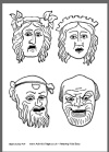 8 best images about Teaching: Masks and Mask Templates on