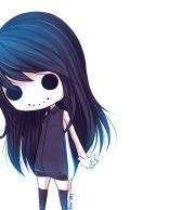 ghost v2 -anime chibi girl 's