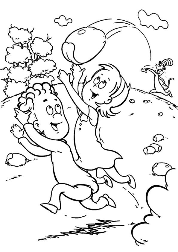 1000+ ideas about Dr Seuss Coloring Pages on Pinterest