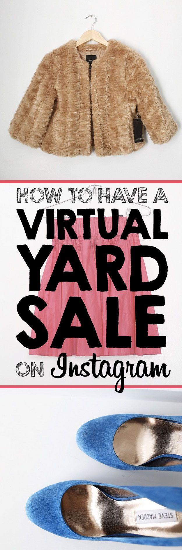 1000 ideas about Online Garage Sale on Pinterest  Yard sale Garage sale tips and Garage sale