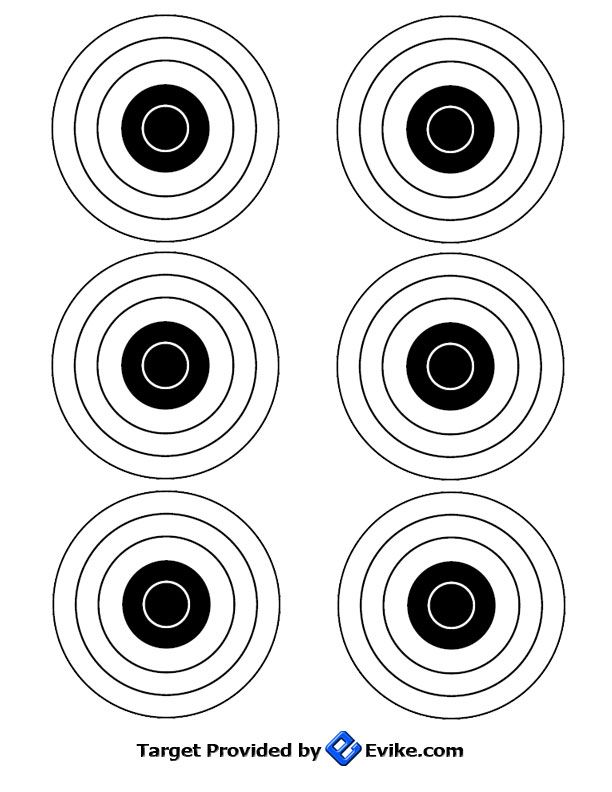 17 Best images about Targets (printable) on Pinterest