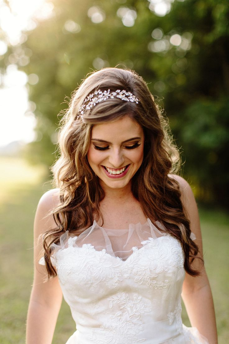 25 Best Ideas About Wedding Hair Down On Pinterest Half Up