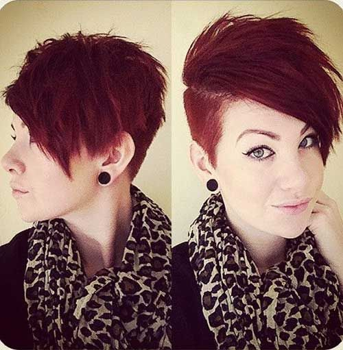 25 Best Ideas About Short Shaved Hairstyles On Pinterest Short