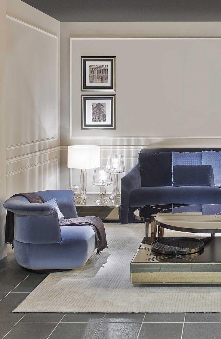 Elegant Velvet Living Room Set