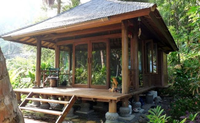 Best 189 Indonesian Bali Style Homes Images On Pinterest