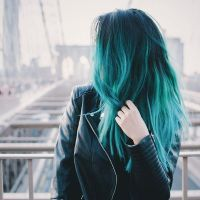 25+ best ideas about Teal Ombre Hair on Pinterest | Teal ...