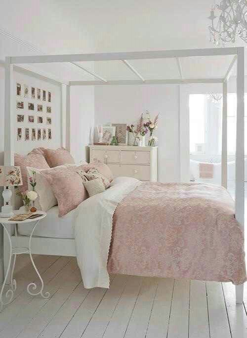 Diy Pink White Bedroom Ideas The Balance Between And Is Nice Shabby Chic