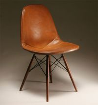 Charles and Ray Eames Herman Miller DKW chair, 1950s ...