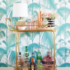 Small Kitchen Carts On Wheels Rectangular Tables How To Style An Über-chic Home, According Fashion ...