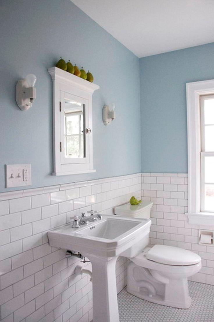 1000 ideas about Subway Tile Bathrooms on Pinterest  White subway tile bathroom Simple