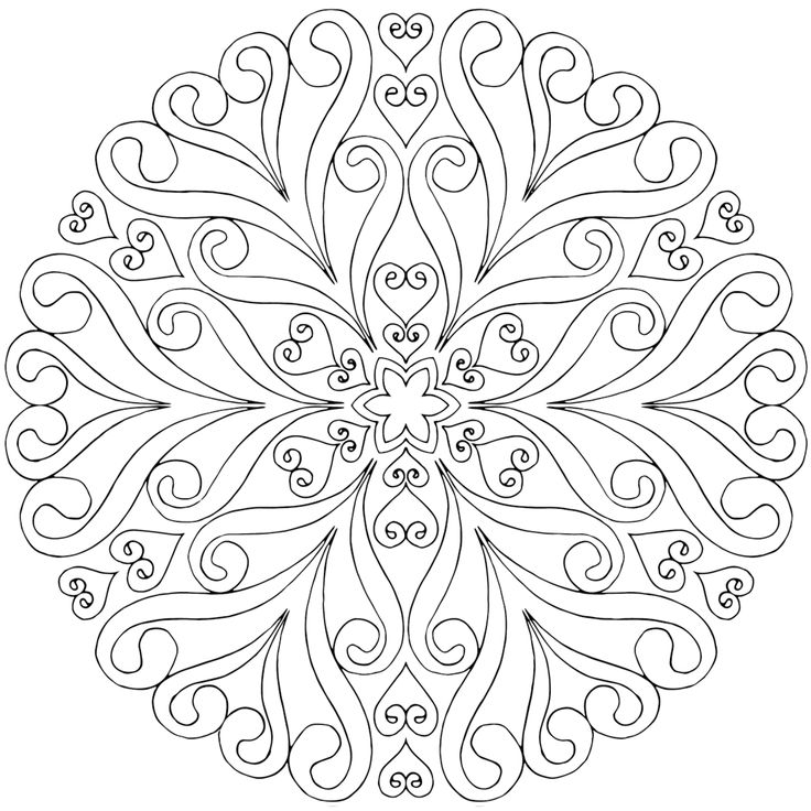 17 Best ideas about Mandala Coloring Pages on Pinterest