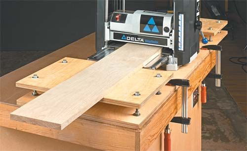 Portable Wood Planer Woodworking Projects Amp Plans