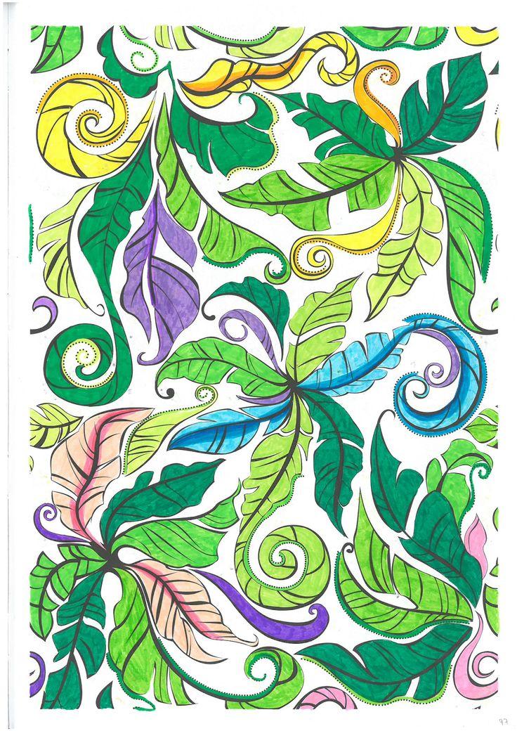 Desenho 97 Arte Terapia Pintar Colorir Colorir Para