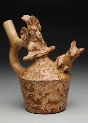 1000 images about Precolumbian Peru Moche vessels on