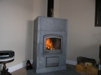 New Harmaja fireplace from Tulikivi www.warmstone.com | My ...