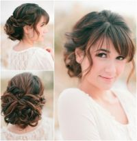 beautifully elegant updo wedding hairstyles modwedding ...