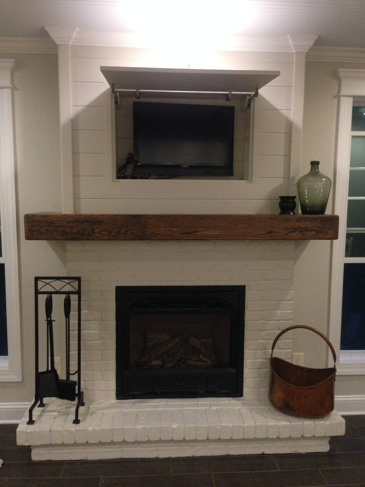 1000 ideas about Tv Over Fireplace on Pinterest  Fireplaces TVs and Stone Fireplace Surround