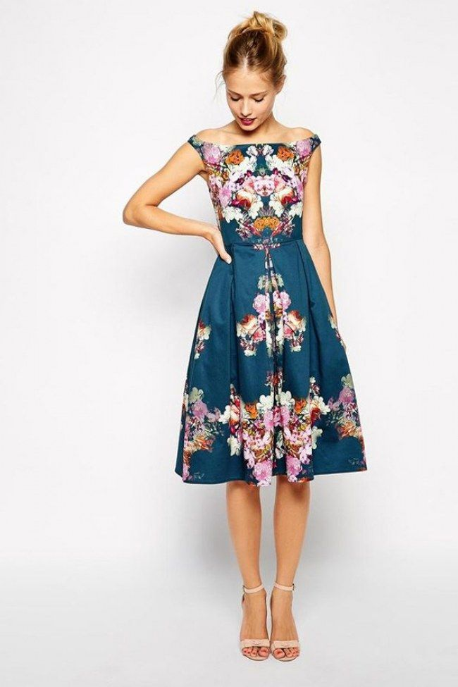 50 Stylish Wedding Guest Dresses That Are Sure To Impress  Wedding Stylish dresses and Floral