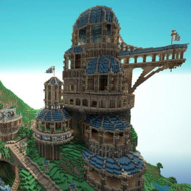 Really cool house on Minecraft  mindcraft  Pinterest  Sommar Unge och Hus