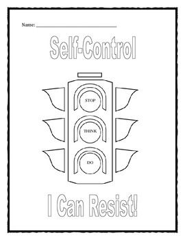 Printables. Impulse Control Worksheets For Kids