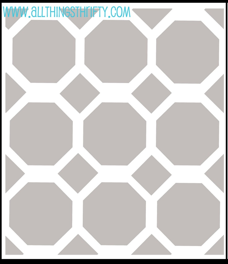 59 Best Images About Stencil Patterns On Pinterest