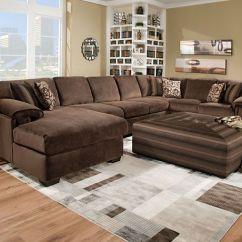 Sectional Sofas Microfiber Fabric Luxury New York Rhino Beluga 3 Pc.sectional Sofa | Living Rooms American ...
