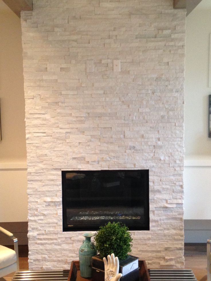 Quartz Ledgestone Fireplace Supplied And Installed By Floor Trendz Killarney Infill