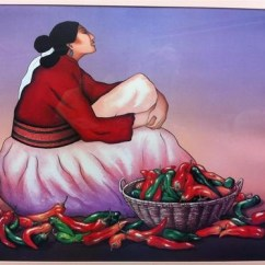 Framed Prints For Kitchens Best Kitchen Island Rc Gorman Chili Peppers Navajo Gallery Fine Art Poster ...