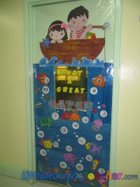 Classroom Door Decorations | Classroom Door Decor  Little ...