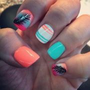 instagram of acrylic nails