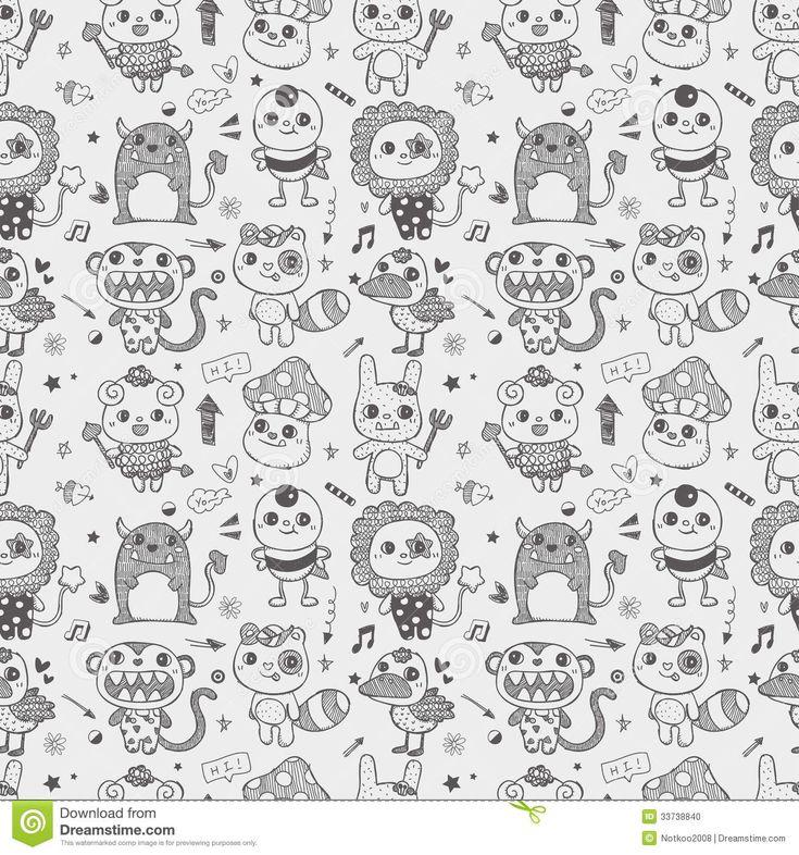 1000 ideas about Doodle Monster on Pinterest  Doodle
