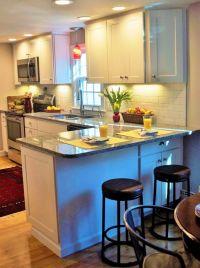 25+ best ideas about Kitchen peninsula on Pinterest