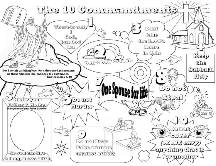 17 Best images about The 10 Commandments on Pinterest