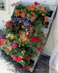 25+ best ideas about Pallet planters on Pinterest