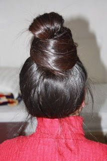17 Best Images About Super Very Huge Bun Hair On Pinterest