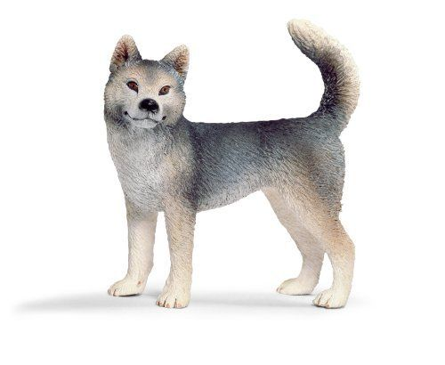 Schleich Husky Female by Schleich 614 Fun Fact Huskies can have one brown eye and one blue
