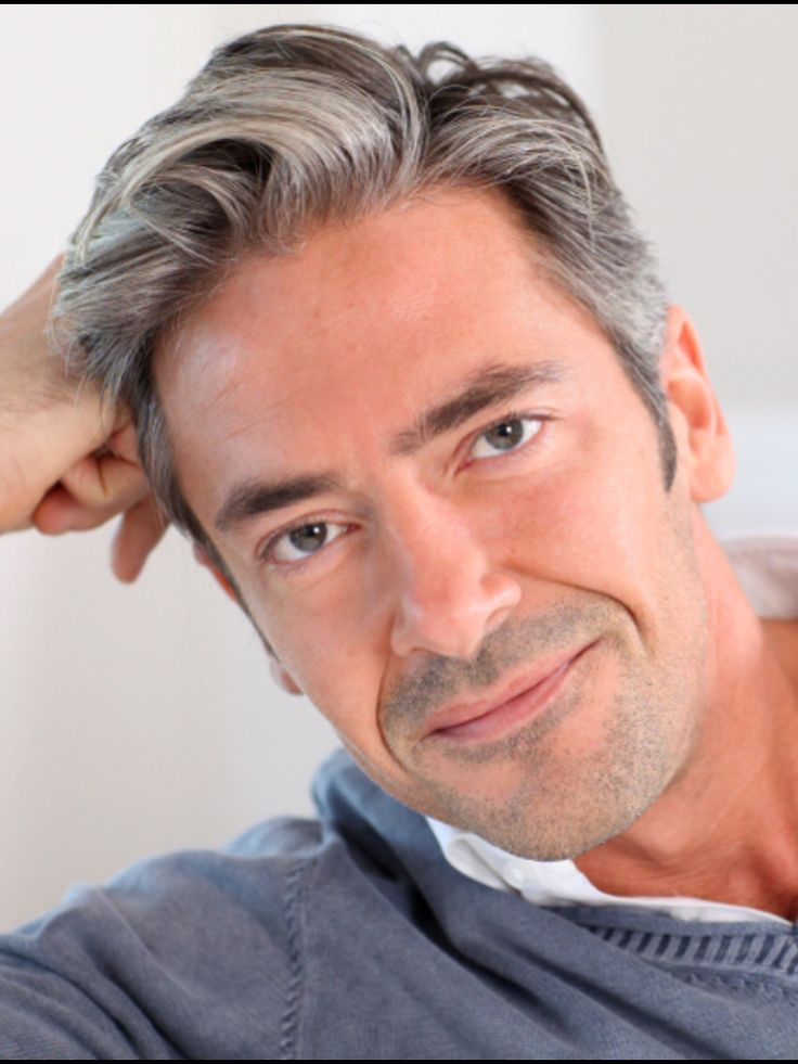 25 Best Ideas About Grey Hair Men On Pinterest Silver Hair Men