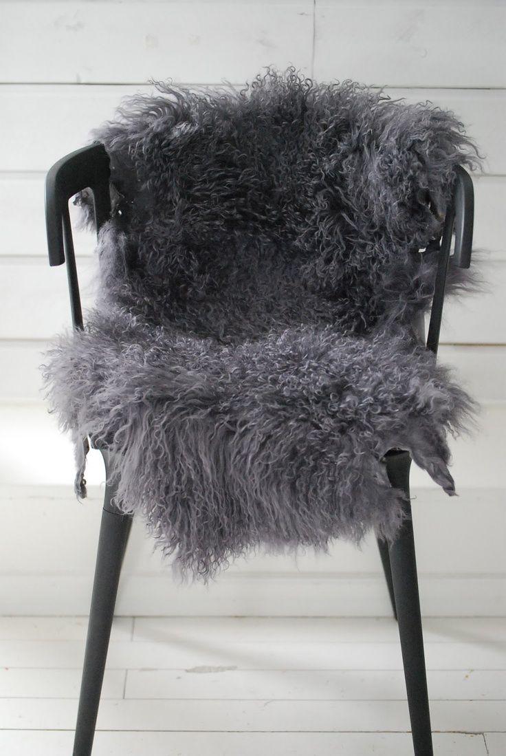 sofa seat covers leather michael nicholas dove gray home decor ♅ grey fur throw | pinterest ...
