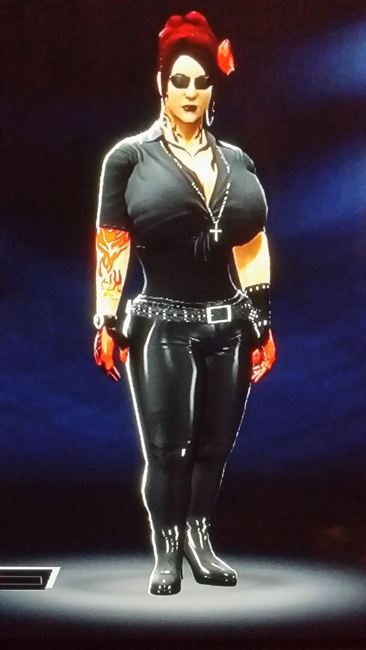 8 Best Images About My WWE 2K15 Xbox 360 Created Characters On Pinterest Seasons Sasha