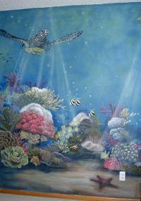 Baby Nursery- Ocean theme mural idea as seen on www ...
