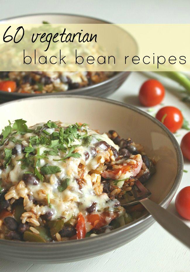 60 vegetarian black bean re