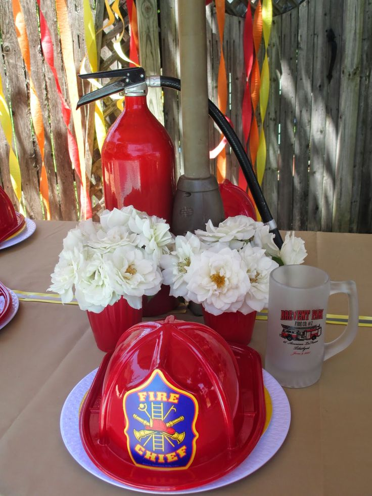 35 Best Images About PARTY IDEAS On Pinterest Fireman