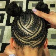 15 - cornrows natural hair