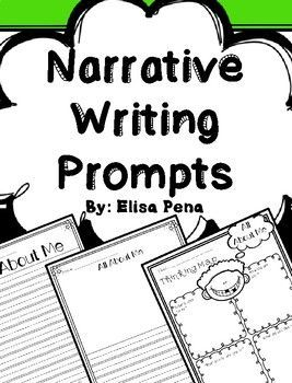 17 Best ideas about Narrative Writing Prompts on Pinterest