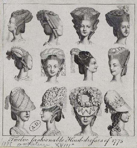 73 best 18th Century Hairstyles images on Pinterest